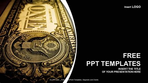 One Dollar Bill Finance Ppt Templates Free Financial Powerpoint Templates