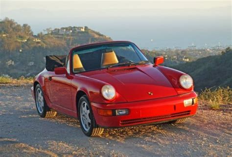car owners manuals for sale 1990 porsche 911 head up display 1990 porsche 911 carrera 2 cabriolet 964 43k miles 2 owners extremely original classic
