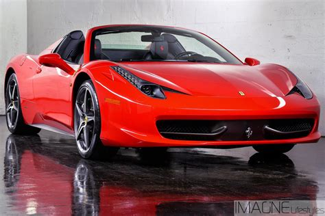 Ferrari Italia Convertible by Get The Best Deal The Ferrari Italia Convertible Rental Nj