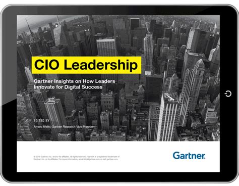 10 leadership insights every leader needed yesterday books cio leadership e book gartner