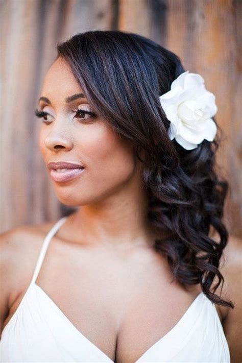 Bridesmaid Hairstyles For Black Hair by 50 Superb Black Wedding Hairstyles