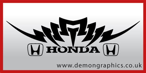 Tribal Sticker Honda by Tribal Decals Car Graphics By Demon Graphics Makers Of
