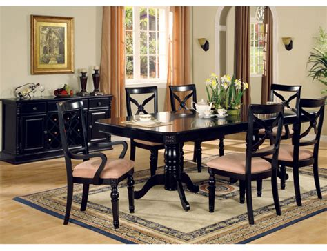 Black And White Dining Room Decorating Ideas Room Of Black Black Dining Room Furniture Decorating Ideas