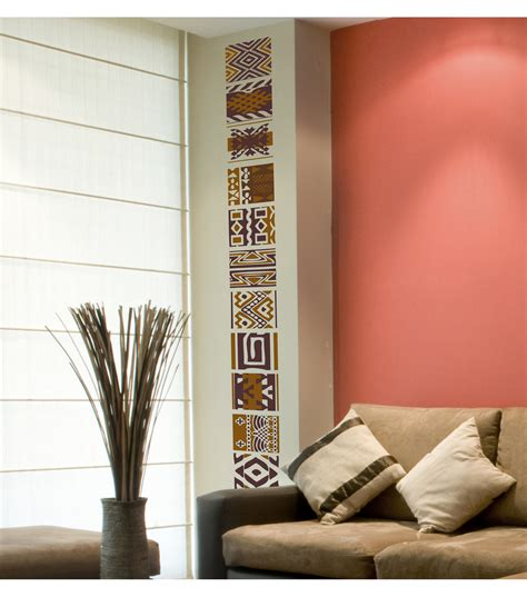 Tribal Home Decor by Home Decor Tribal Wall Decal 16 Piece Set Jo Ann