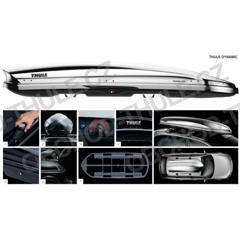 Dynamic L by Thule Dynamic L 900 Chrom St蝎e蝪n 237 Box