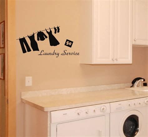 laundry room sticker wall laundry room wall decal removable sticker service mural