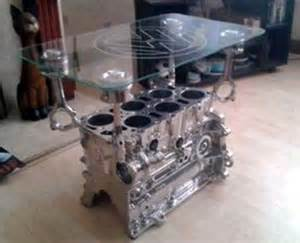Car Part Home Decor by Just A Car Guy Interior Decorating With Car Parts Art For