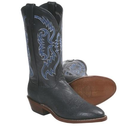shark boots nocona shark skin cowboy boots for 5624t save 25