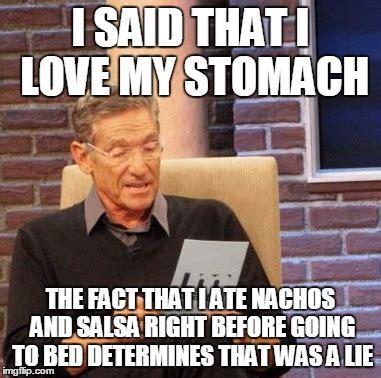 i love my bed meme maury lie detector meme imgflip