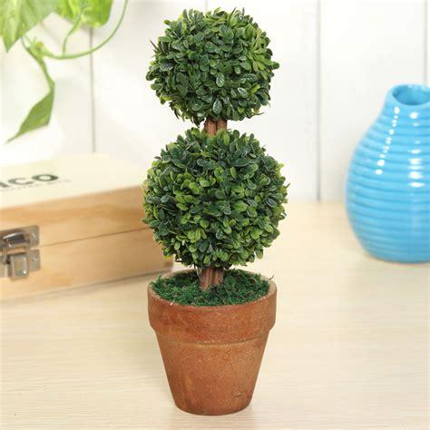 Rumput Plastik 3 taman rumput plastik bola topiary kering pohon pot hijau untuk tanaman partai pernikahan bola