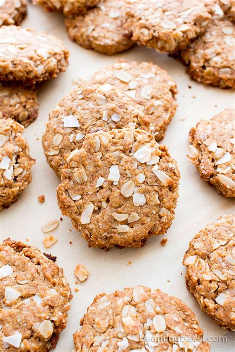 whole grains for 1 year peanut butter coconut oatmeal cookies vegan gluten free