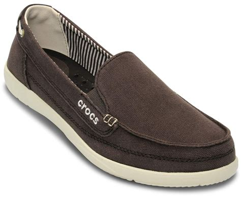 Crocs Loafer walu canvas loafer espresso stucco crocs south africa