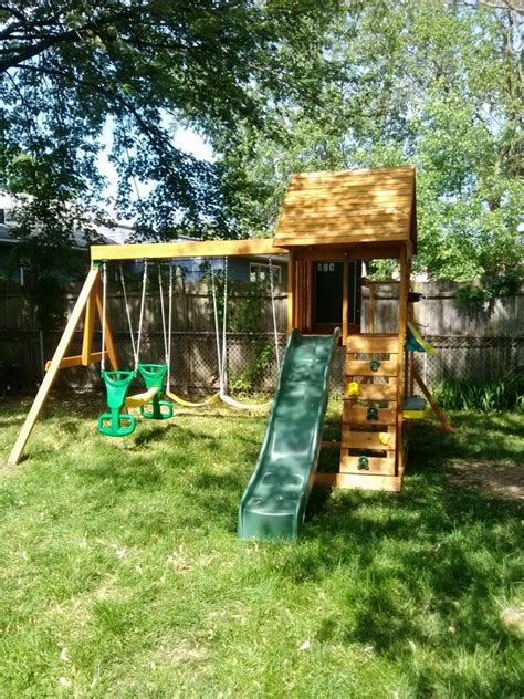 big backyard cove playset from sam s club installed