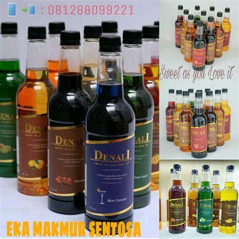 Syrup Flavor By Eka Makmur Sentosa jual denali syrup eka makmur sentosa