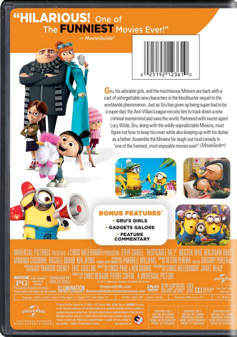 Despicable Me 11 despicable me 2 page dvd digital hd