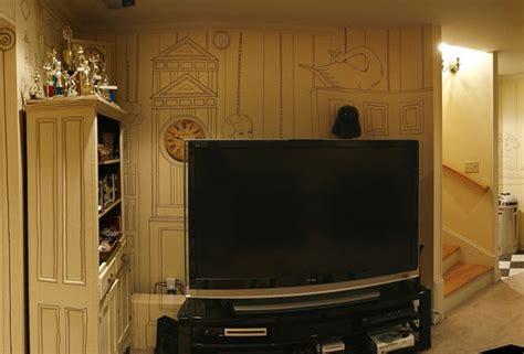 amazingly cheap and beautiful basement walls decor digsdigs