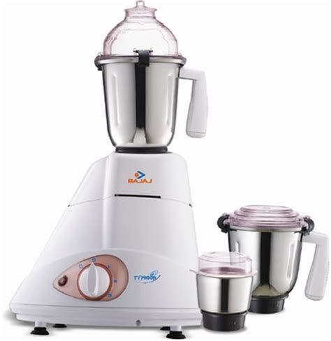 Bajaj Small Home Appliances Bajaj Mixer Grinder Typhoon 750 Watt