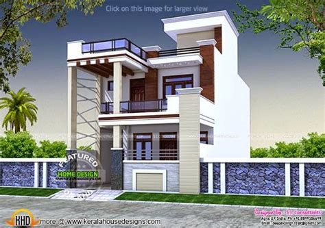 house design of thumb large single floor house plan keralahousedesigns
