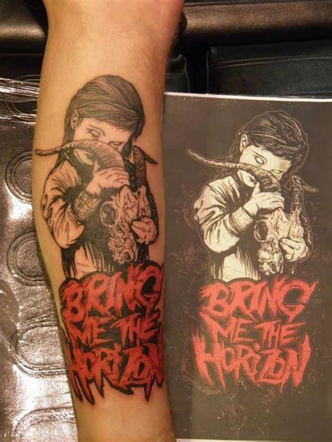 horizon tattoo bring me the horizon by ade bmth