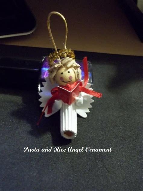 making pasta angel ornaments thriftyfun