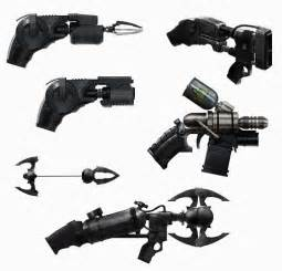 Check out the weapons gadgets and props from batman arkham origins