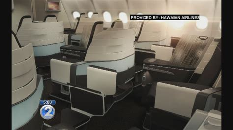 hawaiian airlines comfort seats hawaiian airlines to reconfigure premium cabins to include
