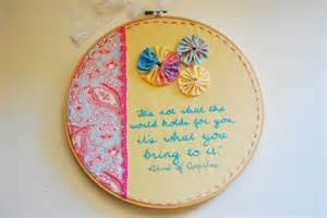 Embroidery hoop art gesticktes pinterest