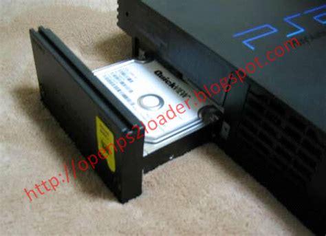 Ganti Hardisk Ps2 cara pasang hardisk di ps2 tanpa ganti chip matrix omfuad
