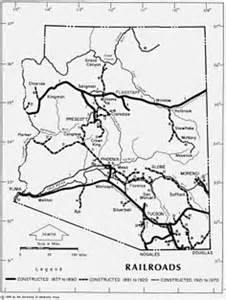 arizona railroad map ancient maps in the state library of arizona s genealogy