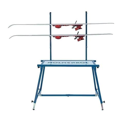 ski service bench holmenkol professional ski service wax bench table ski