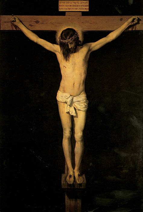 velazquez christ on the cross christ on the cross painting by diego velazquez