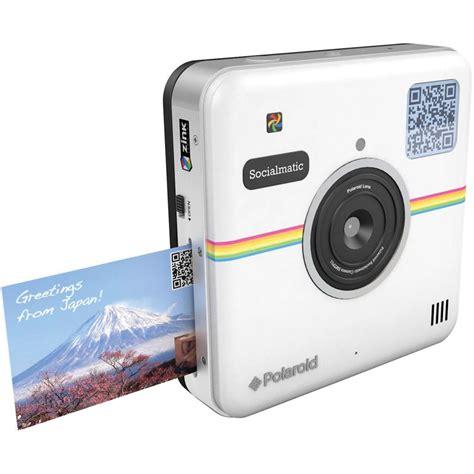 polaroid white polaroid socialmatic instant digital white