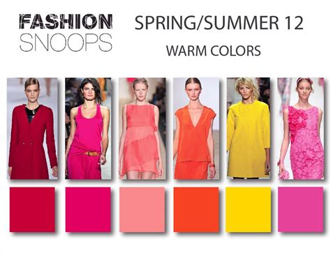 fashion color fashion color trends summer 2012