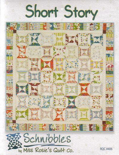 short story a schnibbles charm pack quilt pattern by