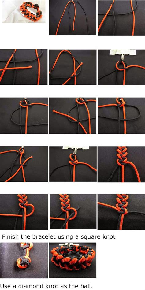 printable paracord instructions markwell s paracord corner piranha knot paracord bracelet