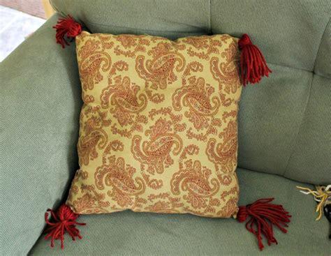 Tassels For Pillows diy tassel pillows