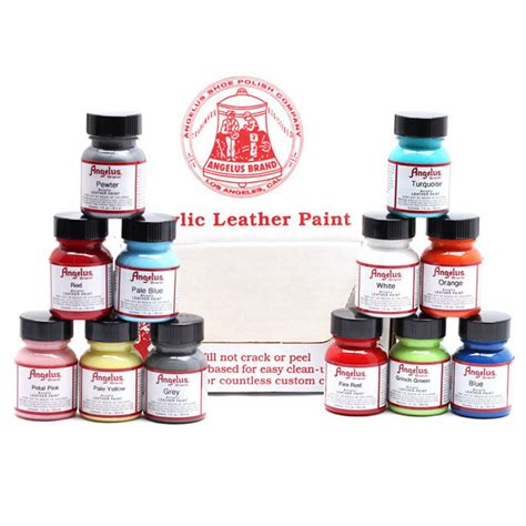 angelus paint patent leather angelus leather paint 29 5mls 093 brick