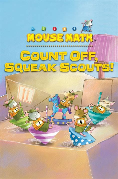 mouse scouts make friends books mouse math count squeak scouts farfaria