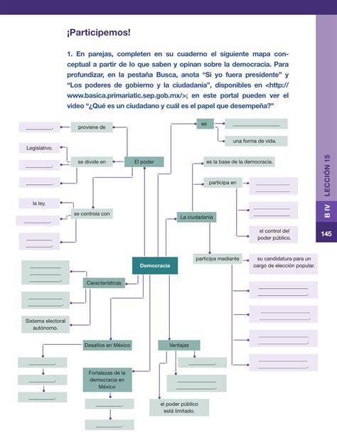 libro sep 6 grado civismo libro sep 6 gradoformacion civica y etica contestado