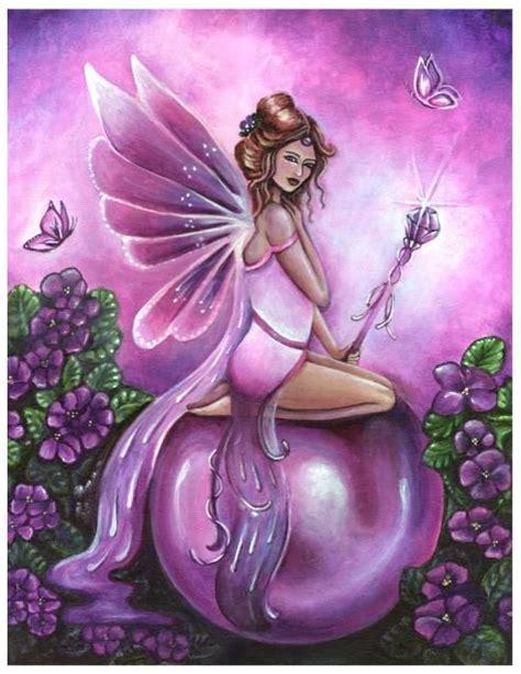 birthstones fairies amethyst february birthstone fairy by jennifer galasso