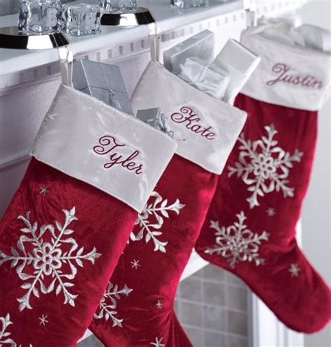 red velvet christmas stockings personalized traditional
