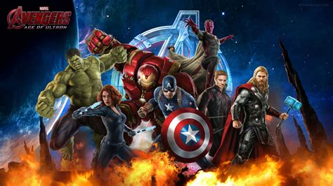 Avengers Age of Ultron Wallpaper   WallpaperSafari