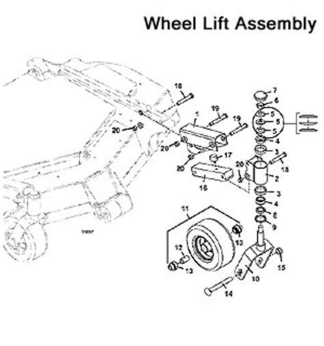 Jungle Wheels Parts Diagram
