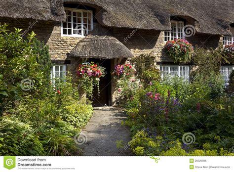 English Tudor Cottage english country cottage yorkshire england royalty free