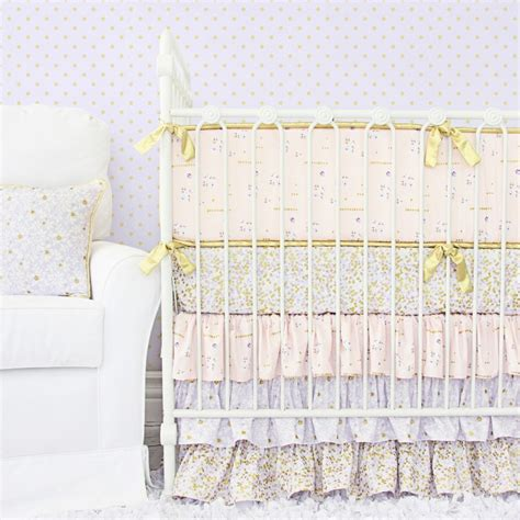 gold baby bedding pink and gold baby bedding perfect for a baby girl caden lane