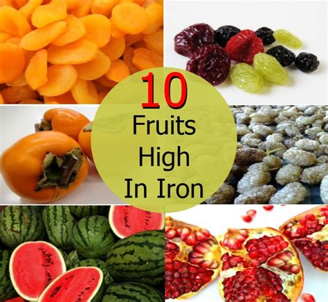 fruit high in iron top 10 fruits high in iron diy home remedies kitchen