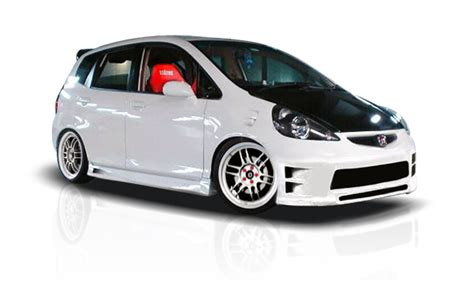 Bodykit Gd 3 07 08 honda fit gd r overstock side skirts kit 103236 ebay