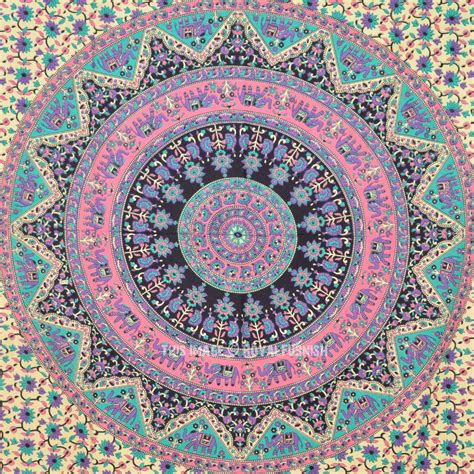 hippie bed sheets twin size bohemian mandala wall tapestry indian hippie bedding royalfurnish com