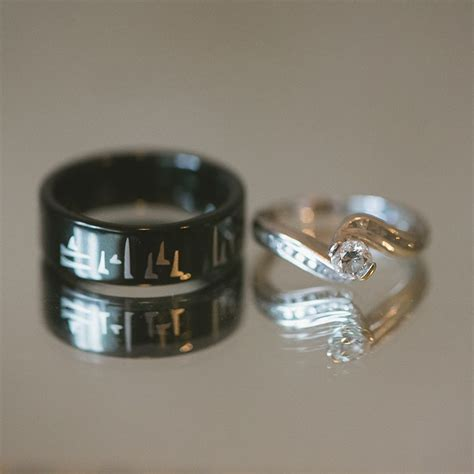 lost wedding ring skyrim skyrim inspired wedding band quot now and forever quot in dovah