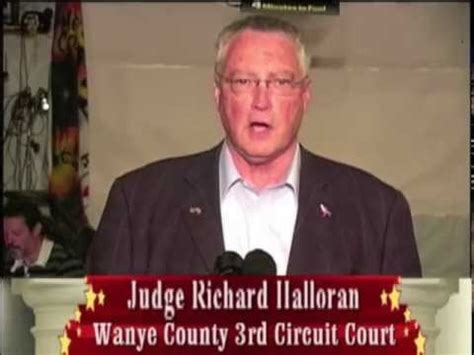 Wayne County Circuit Court Search Judge Richard Halloran For Wayne County 3rd Circuit Court